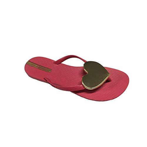 Ipanema Maxi Fashion Ii Fem, Tongs Femme Pink Gold
