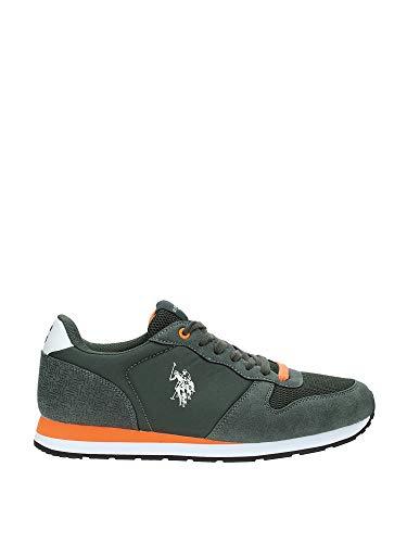 U.S. Polo - WILYS4087S9_HN1 Men's Sneakers Green / 41 (Us Polo Damen Sneaker)
