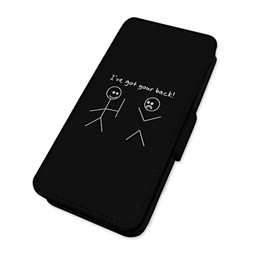 I ve got your Back – Bastone uomo divertente scherzo – Flip cover in pelle cover Apple Iphone 7