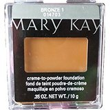 Mary Kay creme-to-powder Fundación Bronce 1