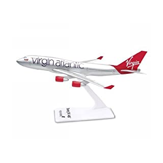 Premier Planes SM74715WB Virgin Atlantic Boeing 747-400 1:250 clip-together model