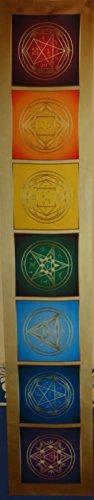 Magische Schutzband Erzengel Enoch - 7 Erzengel Kabbala 140х24