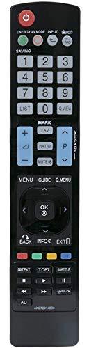 Mando a Distancia Universal para LG TV AKB72914209
