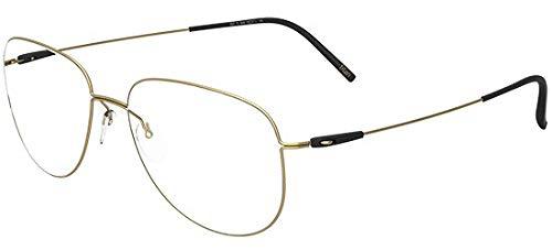 Preisvergleich Produktbild Schwarzkopf Brillen Silhouette DYNAMICS COLORWAVE FULLRIM 5507 GOLD Herrenbrillen