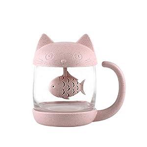 Taza de té de cristal