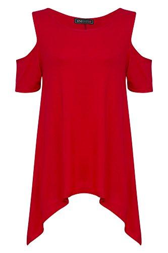 SheLikes - Chemisier - Femme red