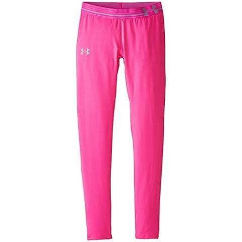 Under Armour–Pantaloni fitness e pantaloncini Ragazza Leggings, Bambina, Fitness Hose und Shorts Leggings, Rbp/Stl, M