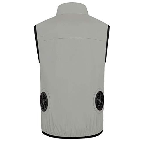 Herren's Air Vest Weste,Aufgerüstet Ice Vest Cooling, Kühlweste Für Männer/Frauen PVA Summer Air Cooling Sport Bekleidung Für Angeln, Radfahren, Laufen -