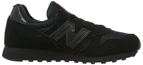 New Balance W373, Baskets Basses Homme Noir