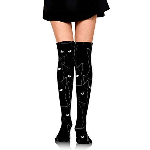 Sexy Black Knee High Boots - shdgfhdfghdf Womens Spring Sexy Over Knee