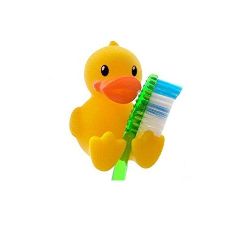 kingwin 4Cute Cartoon gelb Ente Zahnbürstenhalter Ständer Badezimmer Zubehör