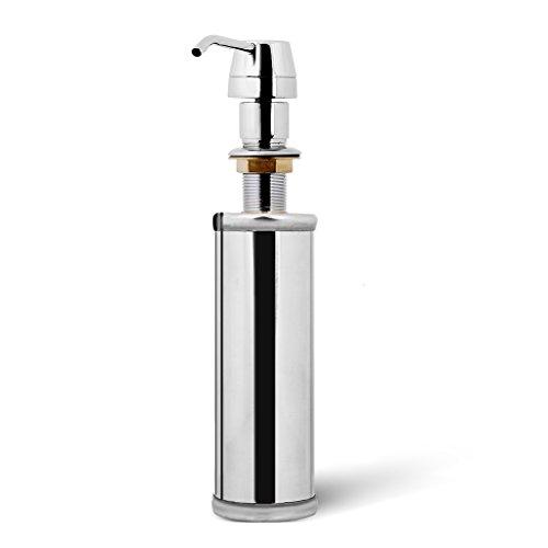 Für Soap-pumpe Küche Spüle (FITYLE Seifenspender Einbau 250ml Spülmittelspender Küche Zubehör Set Nachfüllbar für Spülbecken Spüle)