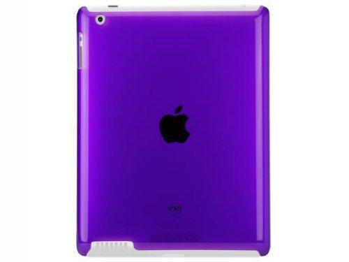 Scosche snapSHIELD P2 Polycarbonate Case iPad 2 - Purple (IPD2PCPU)