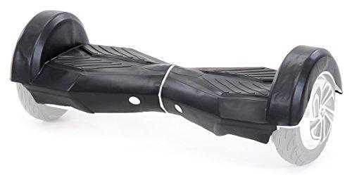 Robway Original Hoverboard Silikon Schutzhülle Gummi-Hülle Gehäuseschutz Cover Skin für Hoverboard Scooter (Größe 8 Zoll/Farbe Schwarz)