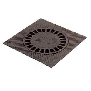 Sumidero hierro fundido 15X15cms negro