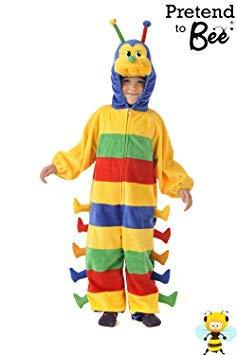 Caterpillar - Kids-Kostüm (Alter: 3-5 Jahre) ()