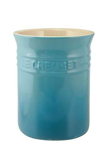 Le Creuset 71501111700001 Bote para espátulas, Cerámica de gres, Azul