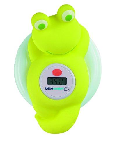 Bébé Confort Thermometre De Bain Electronique Grenouille Ondes Positives