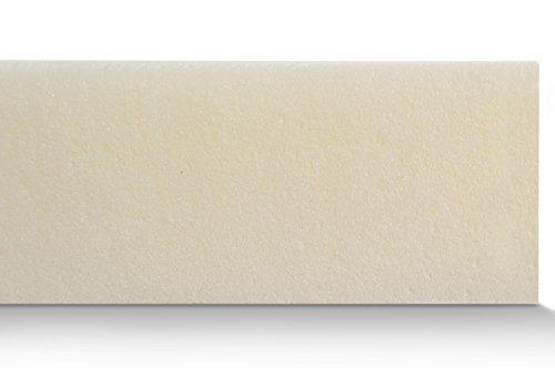 Visco Matratzenauflage ohne Bezug, Topper für Matratze und Boxspringbett made in Germany, ÖKO-TEX zertifiziert, für Rollmatratze und Zonen Kaltschaummatratze geeignet, Härtegrad (140 x 200 cm)