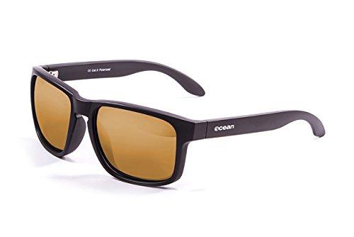 Ocean Sunglasses - Blue Moon - lunettes de soleil - Monture : Noir Mat - Verres : Revo Orange (19202.45)