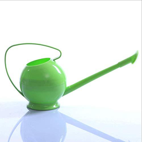 WXH Gießkannen Candy-farbige Runde Gießkanne Kleine Bewässerung Blume Reinigung Gießkanne A+ (Farbe : Green)