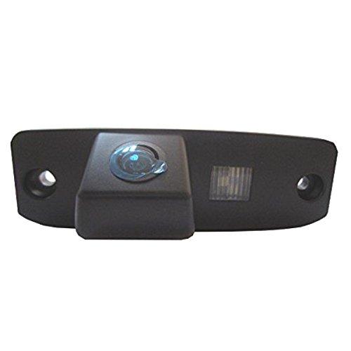 CUCAM38-Telecamera retromarcia a colori, con griglia di linee come license plate-Lampada, sensore di parcheggio per Kia Sportage R Borrego Carens K3 Opirus Sorento Hyundai Accent Elantra i20 i30 Sonata Tucson
