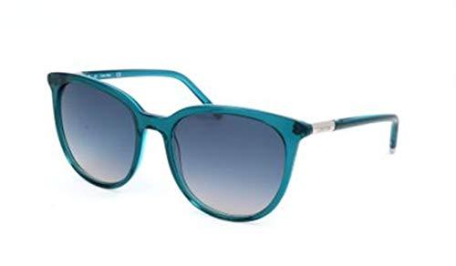 Calvin Klein CK Damen CK4356S 34939 424-0-18-140 Sonnenbrille, Blau, 56
