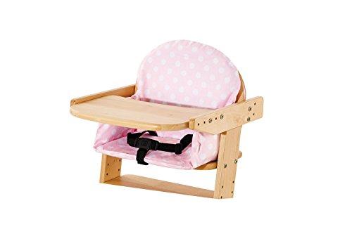Pinolino - Bezug für Sitzverkleinerer für Treppenstühle \'Punkte\', rosa