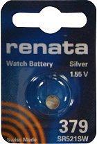 Renata Knopfzelle 379 Silberoxid SR63 16 mAh 1.55V 1St.