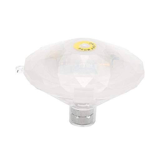 Riuty Unterwasser-LED-Licht, LED-Schwimmlicht Schwimmendes Licht Schwimmbecken-Licht Unterwasser-LED-Licht-Wannen-Badekurort-Lichter -