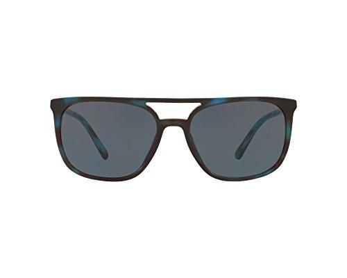 BURBERRY Herren 0Be4257 370287 57 Sonnenbrille, Blau (Blute Havana/Grey),