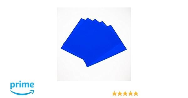 10 pieces Press-n-Peel Blue Transfer Film PCBs