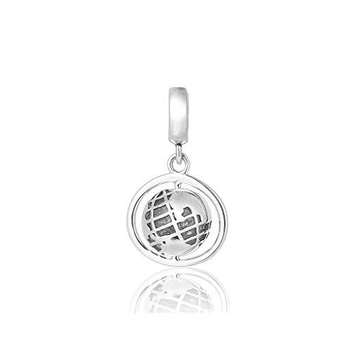 Spinning Globe Reise-Anhänger für Damen, Geschenk