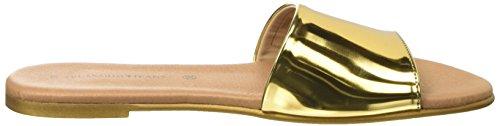 Trussardi Jeans 79S60253, Ciabatte Donna Oro