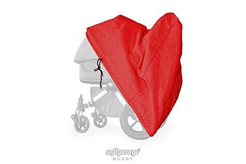 softgarage buggy softcush rot Abdeckung für Kinderwagen Safety 1st Ideal Sportive Regenschutz Regenverdeck