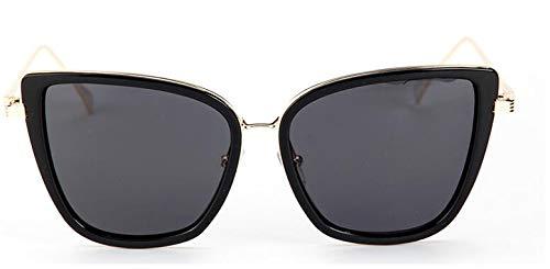 ZRTYJ Sonnenbrillen Polaroid Sonnenbrillen Damen Katzenauge Vintage Uv Polarized Sonnenbrille Herren Oversized Mirror