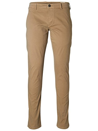 SELECTED HOMME - Pantalon - Chino Homme Beige (Greige)