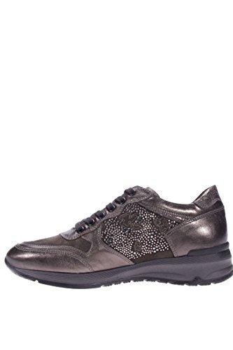 Senhoras 109 Nero Sapatilha Antracite Com Giardini Strass Sneaker A616054d ATnfn6vqw