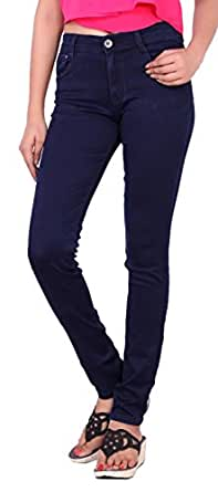 Airways Slim Fit High Waist Stretchable Jeans for Women's