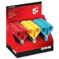 5 Star 924037 - Paquete de 30 tijeras, colores surtidos