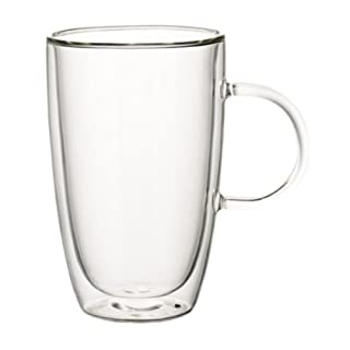 Villeroy & Boch Artesano Hot Beverages Extra-Large Cup, Borosilicate Glass, 140 mm