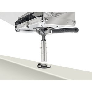 Magma T10-327 Single Levelock Angelruten Flush Deck Socket Mount -