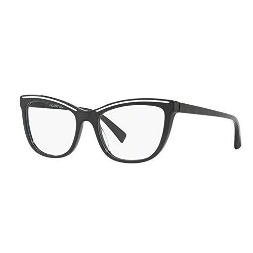 Occhiali da vista donna alain mikli a0 3080 001 nero a gatto eyeglasses 53/140