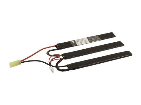 BEGADI LiFePo Airsoft Akku 9,9V 1100mAh - Triple Stick - 20C (3x 7.4 x 18 x 167mm / Mini TAM)