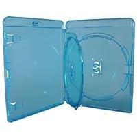 Genuino Amaray Blu-Ray Triple 3 Discos Almacenaje Carcasas 14mm Espina 10 Paquete