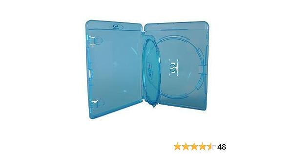 Amaray Blu Ray Und Dvd Hülle Für 3 Discs Blau 1 Stück