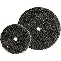 Forum 4317784923057 - Disco pulitore a grana grossa, 100 x 13 mm, colore: Nero
