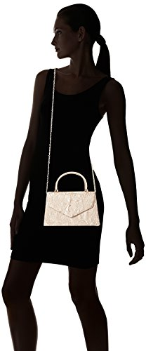 SwankySwansKendall Lace Smart Elegant Ladies - Sacchetto donna Oro (Gold (Champagne Gold))