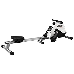 318rvKZhaJL. SS300  - BH Fitness Aquo R308 Foldable rowing machine -complete workout - magnetic brake system - 8 intensities - white