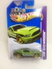 2013 Hot Wheels Custom Real Riders Hw Showroom - '10 Ford Shelby GT500 Supersnake by Mattel